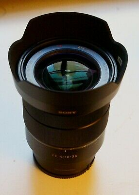 SONY Zeiss Vario-Tessar T SEL1635Z 16-35mm f/4 FE ZA OSS Lens, lightly used
