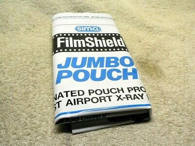 THREE SIMA Film Shield Bag Lead Foil X-Ray Proof Pouch.1 JUMBO,2 Regular Pouches
