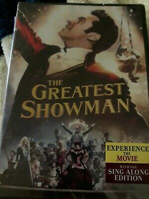 The Greatest Showman (DVD 2018) NEW Box not perfect
