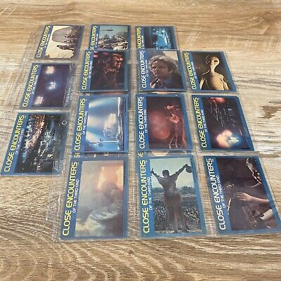 Close Encounters Of The Third Kind Wonder Bread 18 Trading Cards 1977 ColPrem