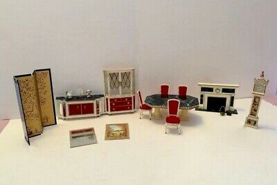 Vintage Ideal Petite Princess  Dollhouse Furniture Lot - 21 Pieces