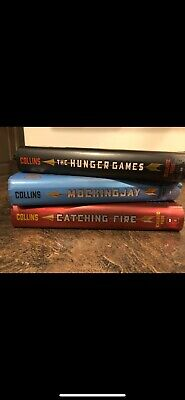 The Hunger Games (Trilogy) 3 Hardback Books Complete Set by Suzanne Collins