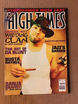 HIGH TIMES Vintage Magazine August 1996 Wu-Tang Clan Method Man Hip Hop Issue