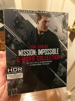 Mission Impossible 6 Movie Collection 4K Ultra HD + Blu-ray - No Digital