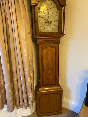 antique grandfather clock. Fully working collection only