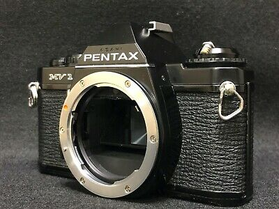 【Excellent+++++】PENTAX MV-1 SLR 35mm Film Camera Black Body from Japan #1016