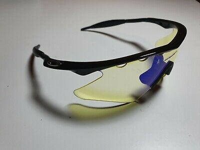 Oakley Sunglasses M Frame Gen 1 Metallic Black w/HI Yellow Heater Lens