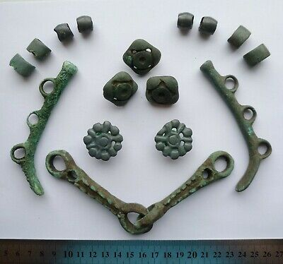 Scythian bronze horse harness 800-600 B.C., with decorative elements!