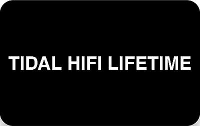 🎧Tidal HiFi Lifetime Account WORLDWIDE High-Fidelity Music🎶 Lifelong ALL📱🖥💻