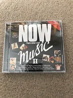 NOW THAT'S WHAT I CALL MUSIC II (2) (2CDs Album) NEW AND SEALED