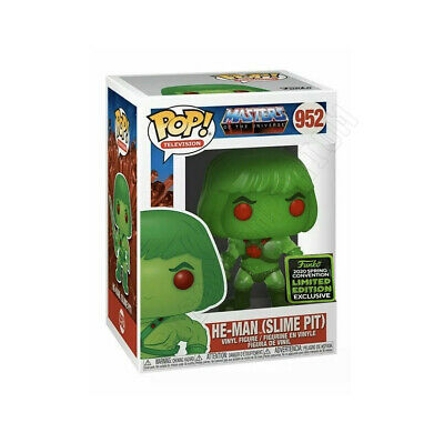 Funko Pop Masters Of The Universe ECCC Shared Excl HE-MAN SLIME PIT NEW PREORDER