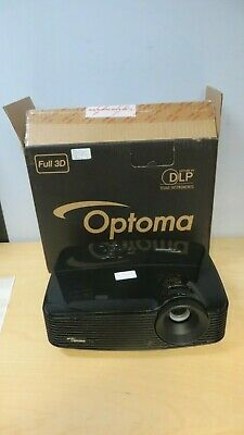 Optoma  Hd Projector (S313 Hdmi Svga) & Carry Bag No Lamp Button Fault