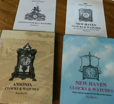New Haven and Ansonia clocks and watches and  by TRAN DUY LY ARLINGTO..as is