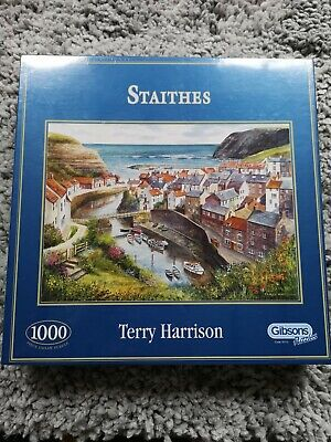 Gibson Staithes Jigsaw Puzzle