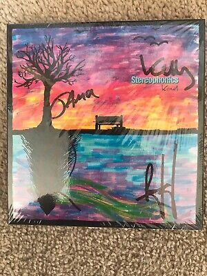 Signed Stereophonics Kind Deluxe cd - Brand New