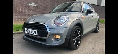 2016 Mini Cooper 1.5 Turbo 5 Door Petrol 21000 Miles Slate Grey Start Stop