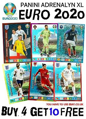 Panini Adrenalyn Xl Uefa Euro 2020 Power Up & Multiple Cards Rock - Goal Machine