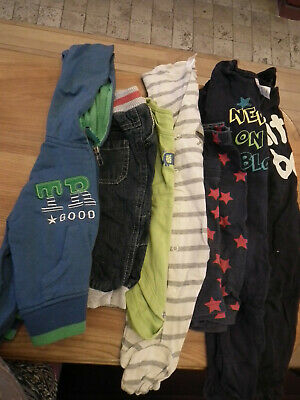 Baby Boy Mix Clothes Sleepsuits Jeans Jumper Size: 6-9 mth 8 items Bundles (150)