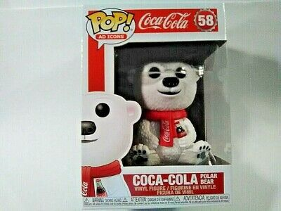 Funko Pop Ad Icons Coca Cola Polar Bear #58 NEW