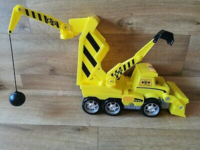 Paw Patrol Ultimate Rescue Construction Truck Digger Rubble Vehicle