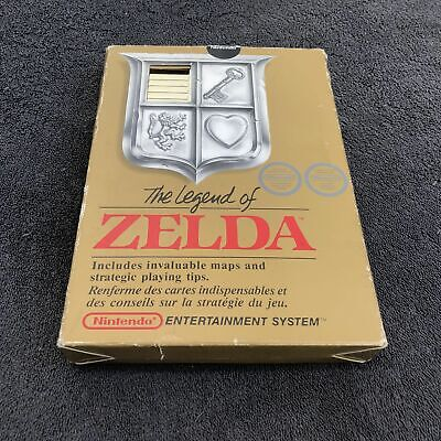 Nintendo NES The Legend Of Zelda FRA Très Bon état