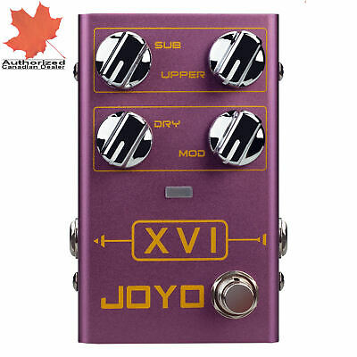 JOYO R-13 XVI Polyphonic and Suboctave Octave Guitar Effect Pedal R-Series New