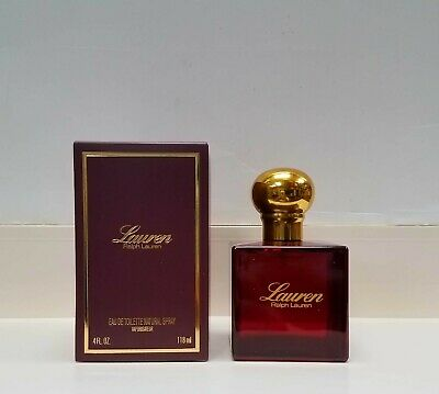 Lauren by Ralph Lauren 4 oz EDT Perfume for Women New In Box Sealed