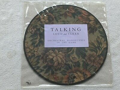 "Orchestral Manoeuvres In The Dark - Talking Loud And Clear (7"" Picture Disc)"