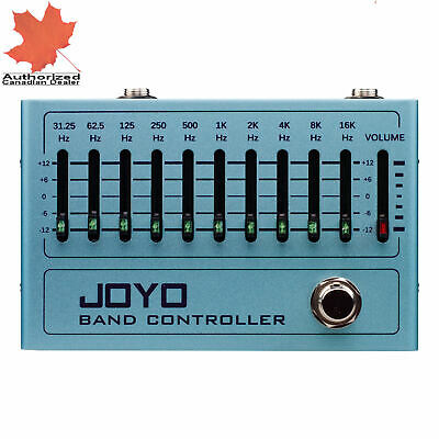 JOYO R-12 R-series 10 Band Graphic EQ Controller Guitar and Bass New