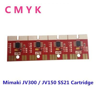 4 Colors Mimaki Chip Permanent for Mimaki JV300 / JV150 SS21 Cartridge CMYK