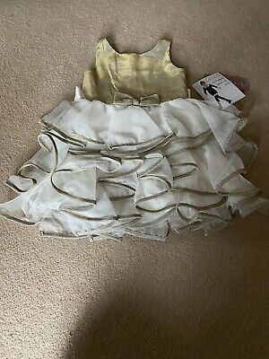 Little Girls Age 5 Kate Mack Dress Brand New With Tags