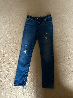 Boys Age 11 River Island Skinny Distressed Look Jeans