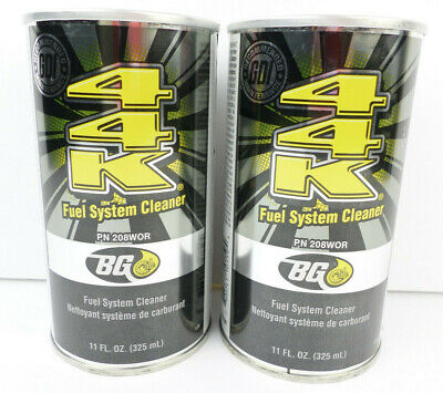 2 Cans BG 44K Fuel System Cleaner # 208WOR (2 x 11 oz. Cans)