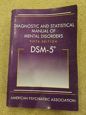 DSM-5- Hardcover Diagnostic and Statistical Manual of Mental Disorders 5th ED