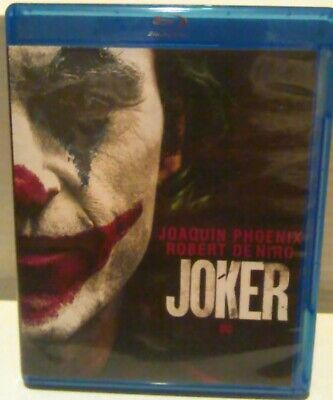 Joker Blu Ray + digital with case and cover insert