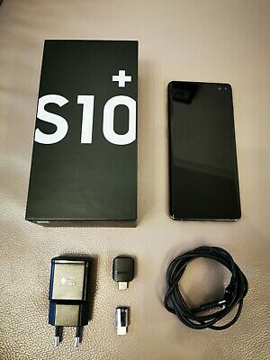Samsung Galaxy S10 Plus - 128GB - Prism Black (Ohne Simlock) Top Zustand.