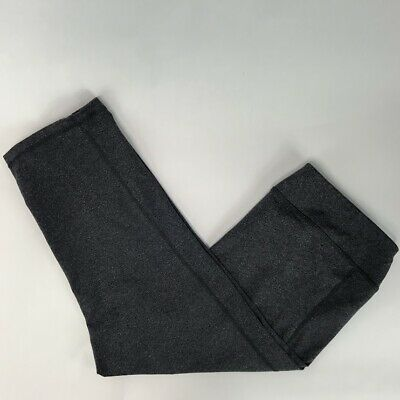 Old Navy Womens Active Wear Cropped Leggings Gray Size XL