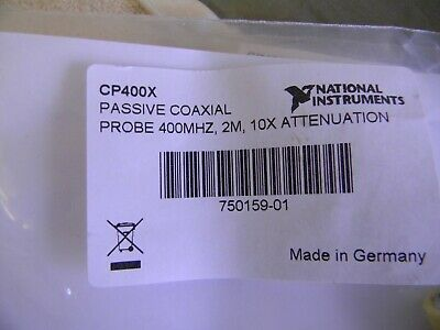 Nationsl Instruments Passive Coxial  Probe CP400X