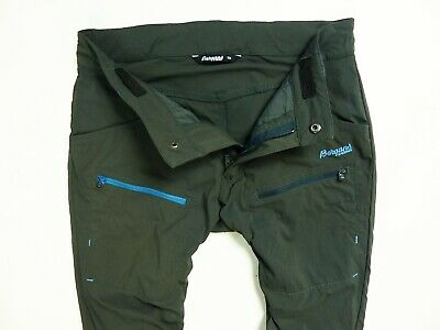 YOUTH BERGANS NORWAY UTNE TROUSERS CARGO PANTS CAMPING HIKING SIZE: 164 (16years