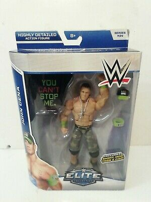 Wwe Mattel Elite Series 34 John Cena Wrestling Figure New