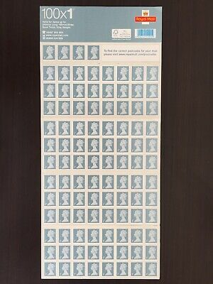 100 x 1st Class Royal Mail Stamps Brand New, Self Adhesive Stamps, Never Used