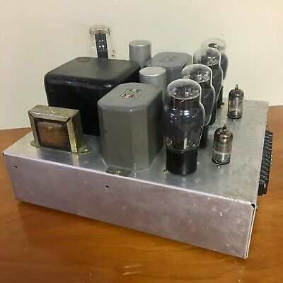 Vintage 6L6 Stereo Tube Amplifier - Recently Serviced!