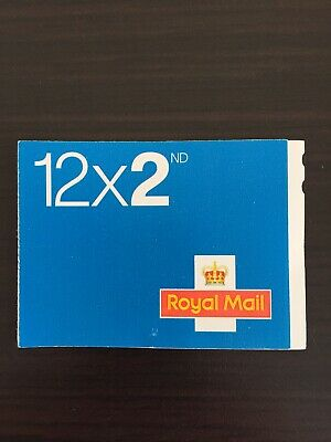 Royal Mail 2nd Class Stamps. Book of 12 Letter Stamps, Brand New, Self Adhesive