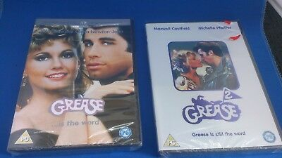 Grease and Grease 2 DVD (2002) NEW bundle still sealed