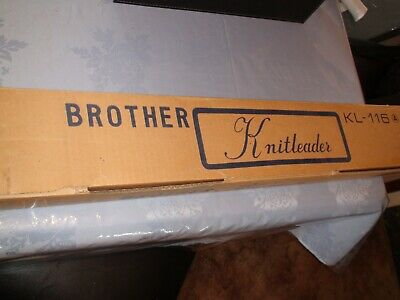 Knitting Machine Brother Knit Leader Kl116A (1)