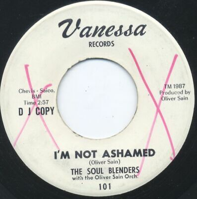 Sweet/Northern - SOUL BLENDERS - I'm Not Ashamed - Vanessa
