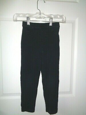 Girls Carter's Black Stretch Pull On Pants with rear pockets - SZ 6