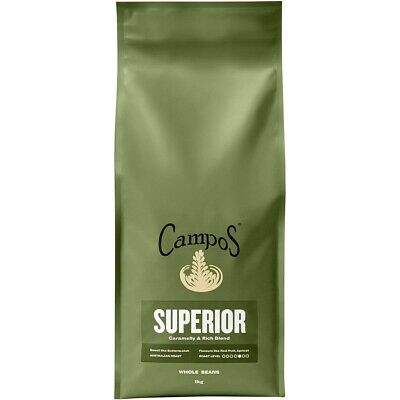 Campos Coffee 1kg Wholebeans Superior NEW