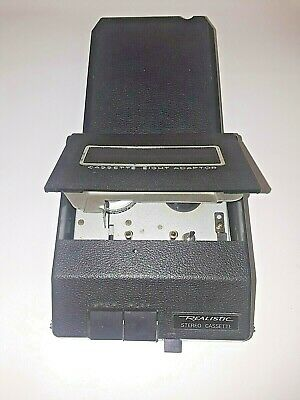 Vintage Realistic 8 Track to Cassette Adapter Radio Shack 12-1875A Made in JAPAN