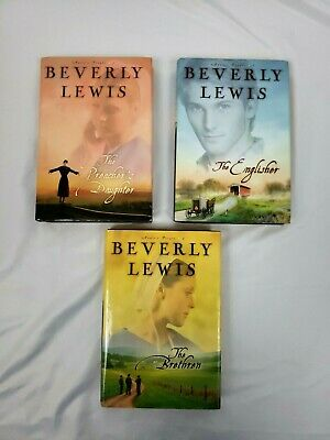Beverly Lewis Annie's People Series Hardcover Books 1-3 Book Lot